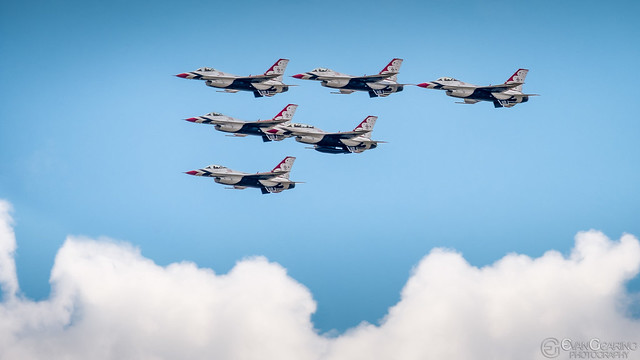 Thunderbirds Over Georgetown