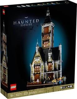 LEGO 10273 創意系列【遊樂場鬼屋】Haunted House 發表~ 不只是超精美鬼屋,裡頭還有驚嚇度破表的自由落體!