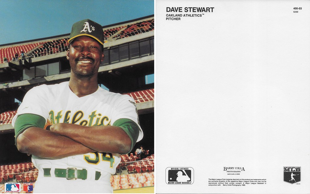 1989 Dave Stewart Barry Colla 8x10 6289