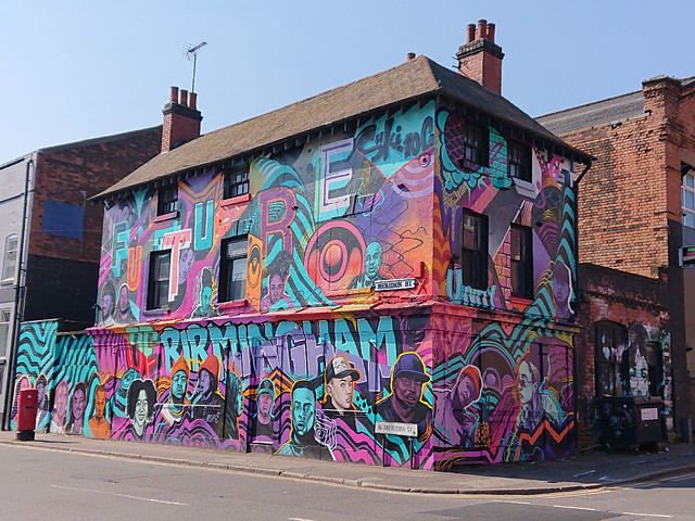 Graffiti house