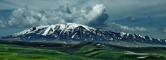 Elk Mountain on the green