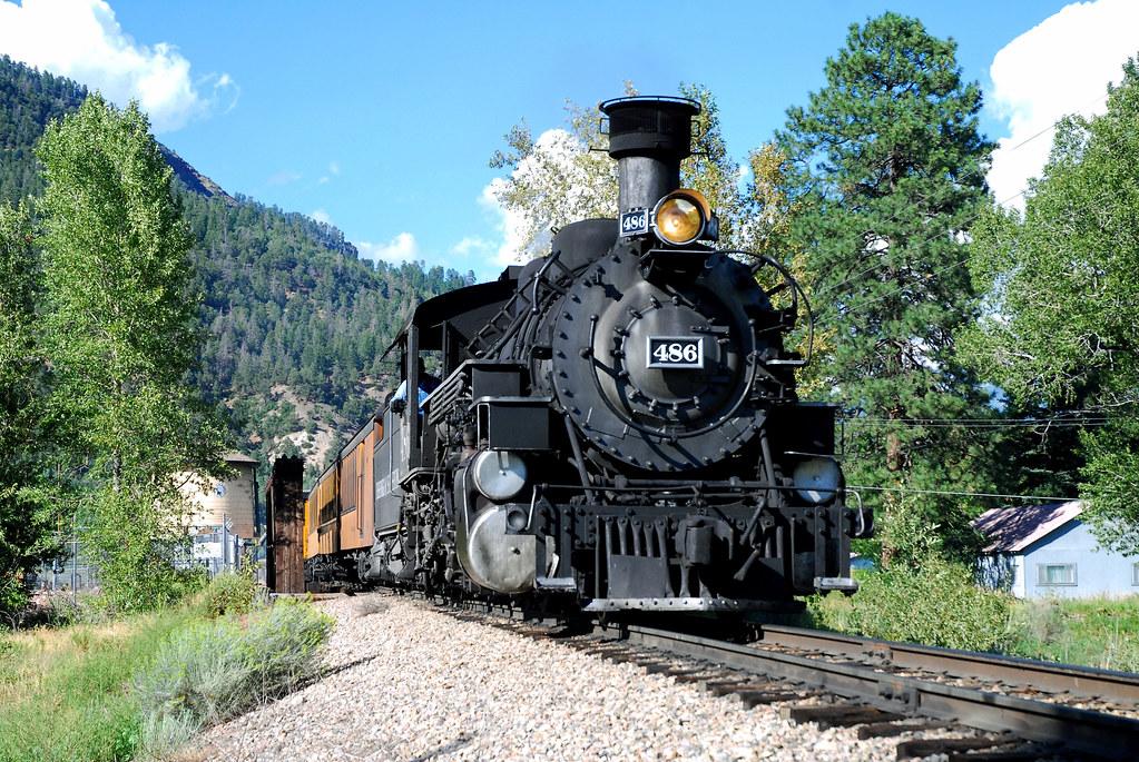 Durango & Silverton #486 by Jim Strain