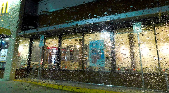 South Side McDonalds ~ Whole Wall of Windows ~ a Faux Rainting
