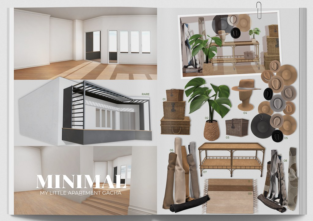 MINIMAL – My Little Apartment Gacha