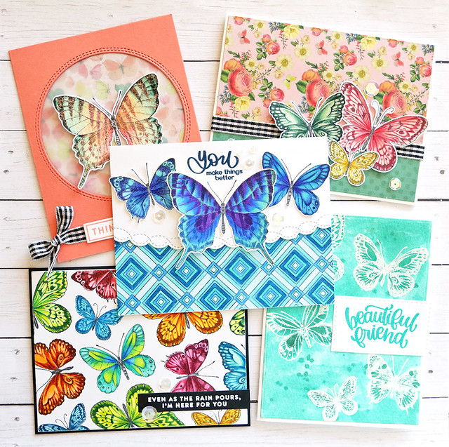 May card kit cards together