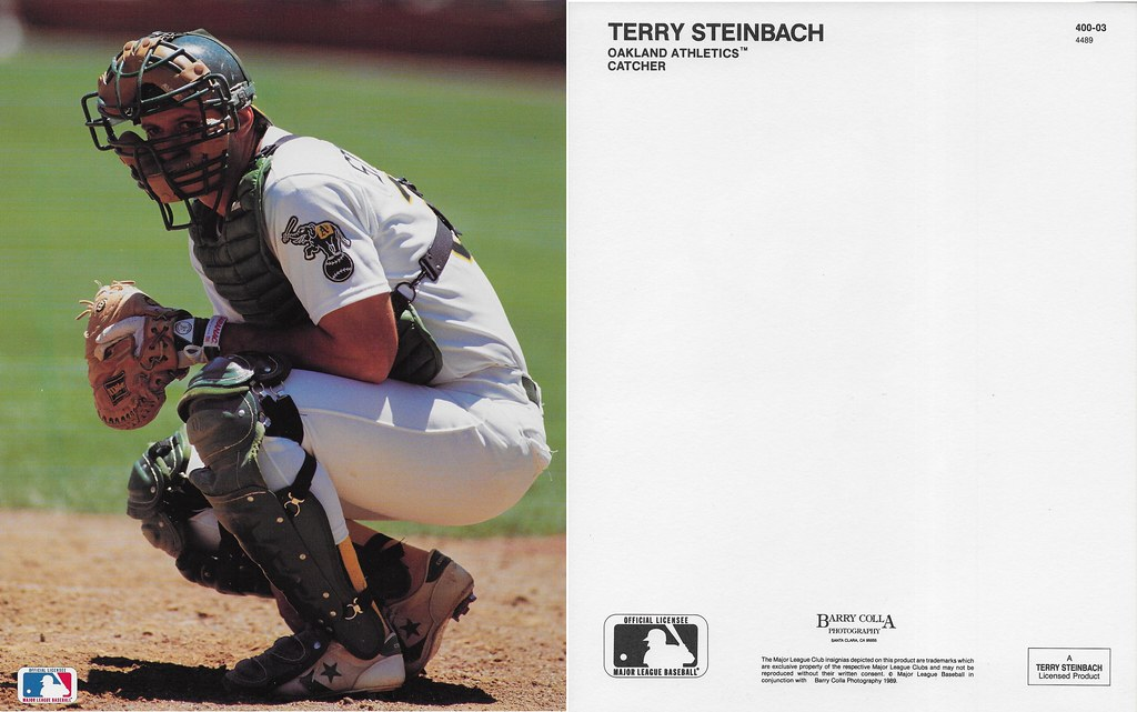 1989 Terry Steinbach Barry Colla 8x10 4489