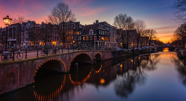 Amsterdam at ease..
