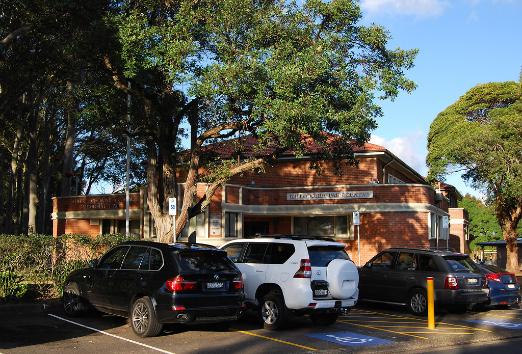 Willougby Park Centre, Willoughby, Sydney, NSW.