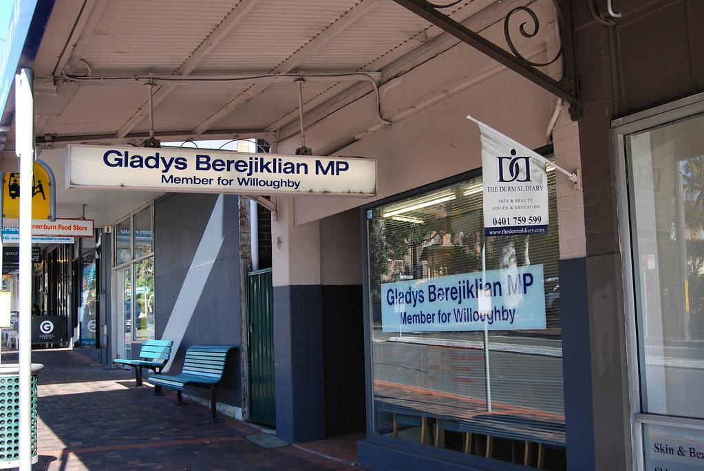 Gladys Electral Office, Naremburn, Sydney, NSW.