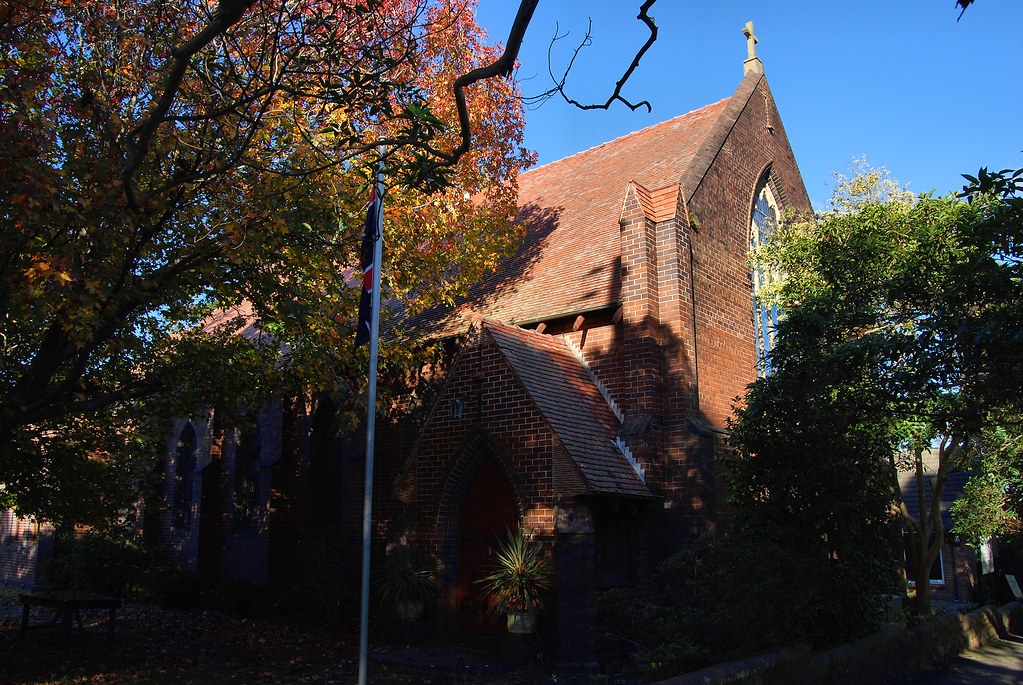 St Barnabras Anglican Church, Roseville, Sydney, NSW.