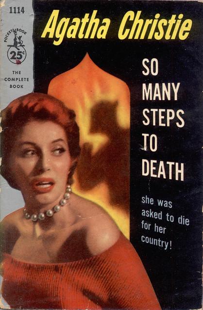 Pocket Book 1114 - 1956 ~ Cover design by SKA Associates ~