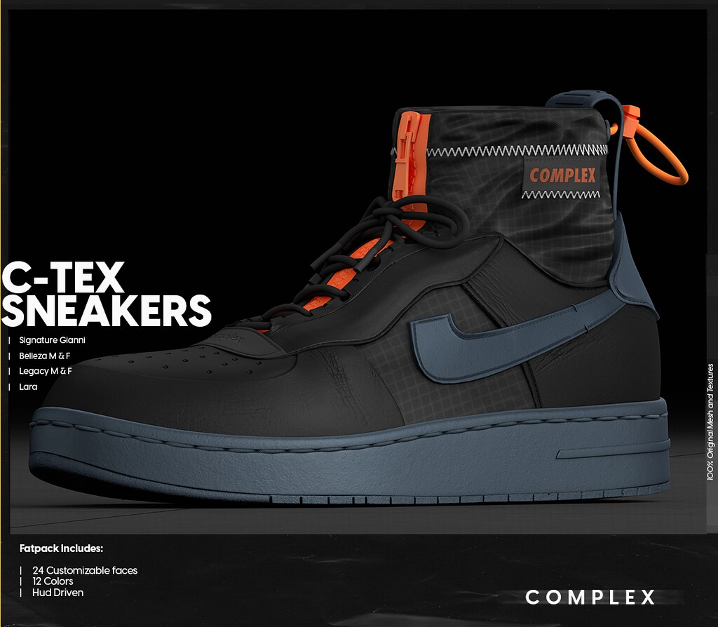 [COMPLEX] C-TEX SNEAKERS