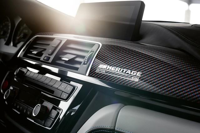 [新聞照片九]BMW M4 Edition M Heritage碳纖維紀念銘版讓成為750分之1的M車主倍感尊榮