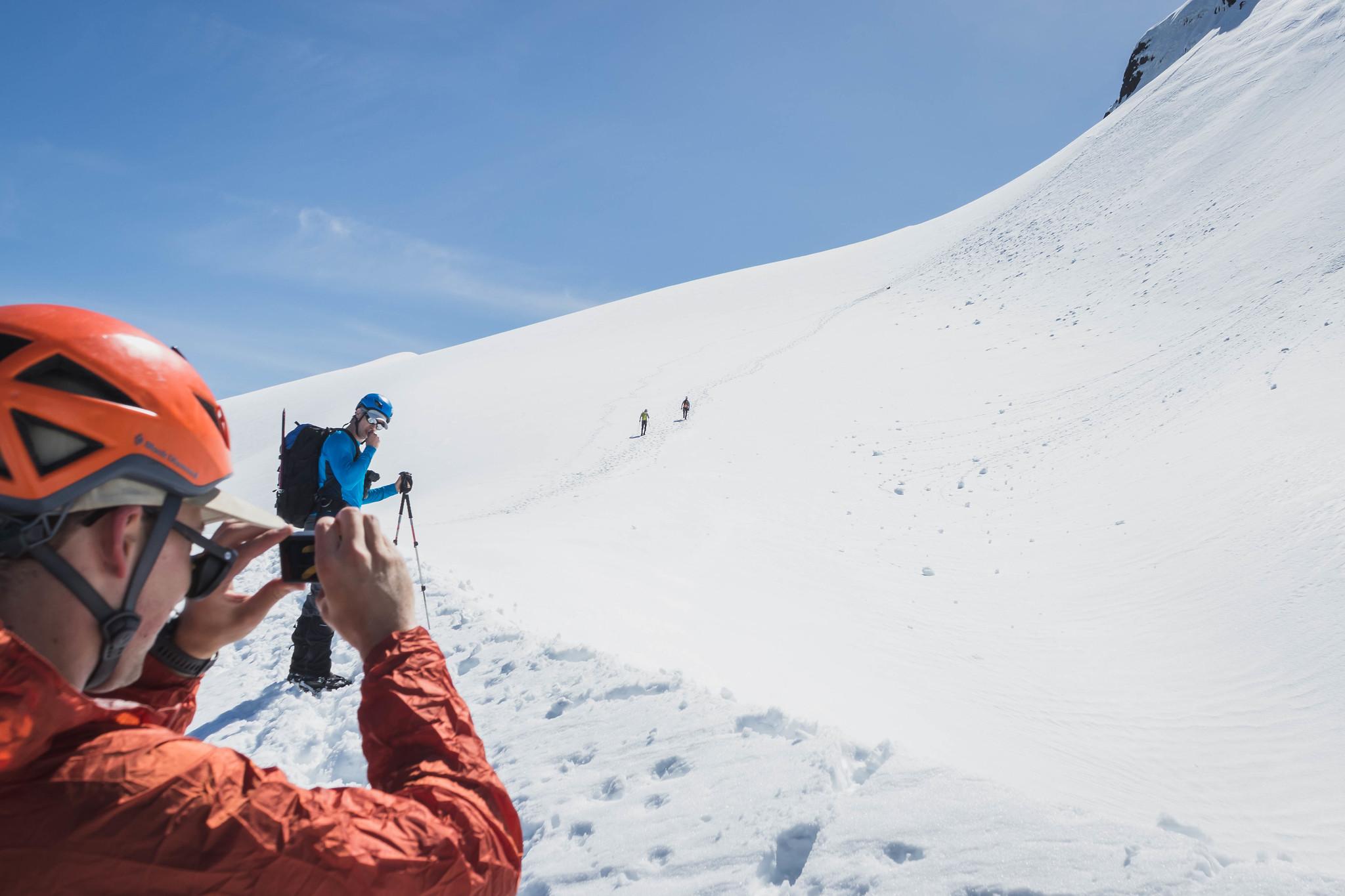 Tourists of Whitehorse Mountain