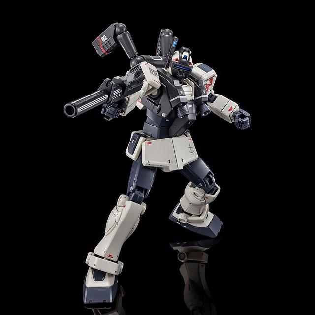 闇夜中的獵人 HG 1/144《機動戰士鋼彈 THE ORIGIN MSD》RGM-79V 吉姆夜襲型(ジム・ナイトシーカー)【PB限定】