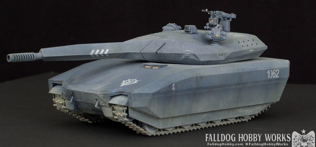 Zeon Inspired Takom PL-01 Tank 1