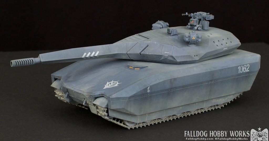 Zeon Inspired Takom PL-01 Tank 4