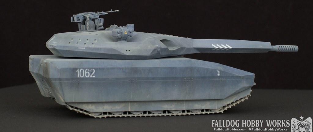 Zeon Inspired Takom PL-01 Tank 6