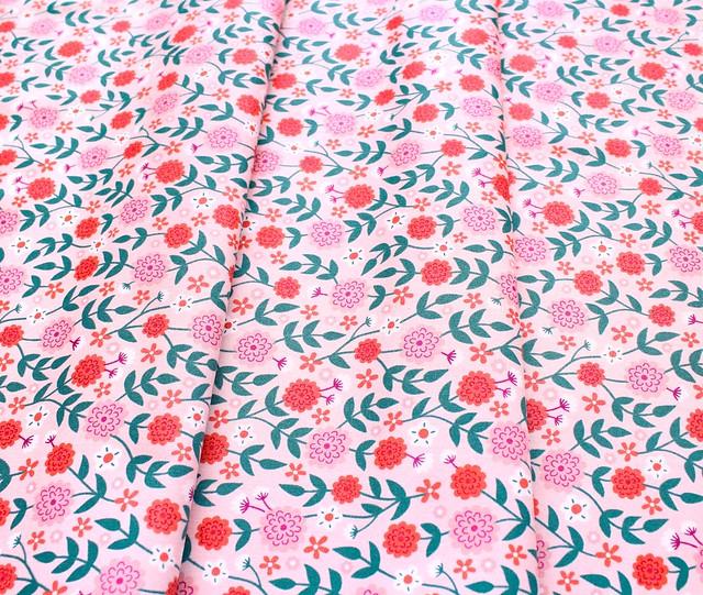 Felicity Fabrics Summer Garden in Watermelon 610030