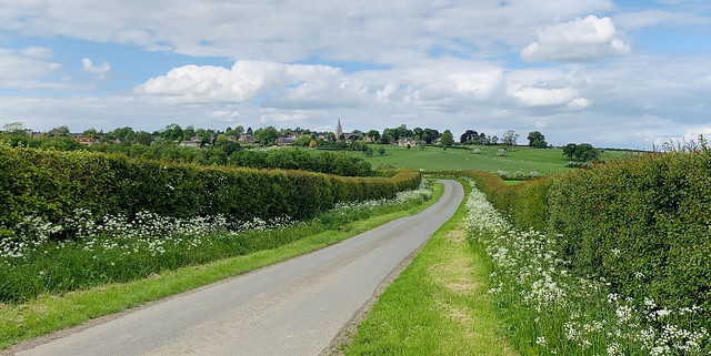 The road to Seaton, Rutland (Explored)