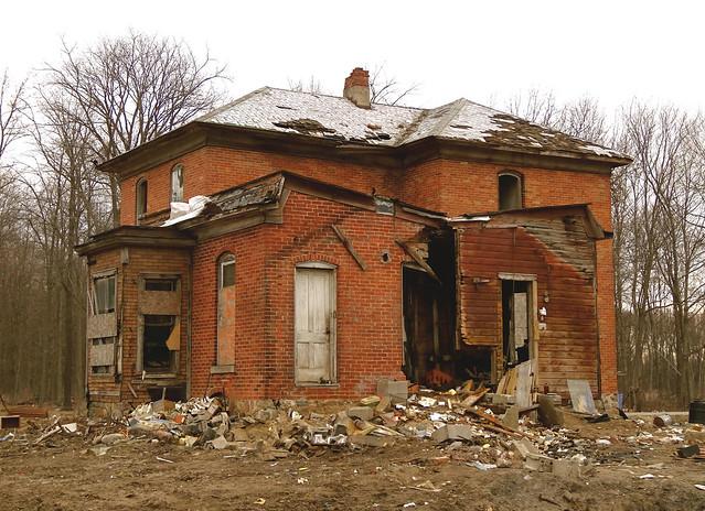 Back of the Stetler House, 2014