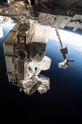#TBT: Astronauts Complete 200th Space Station Spacewalk - May 12, 2017