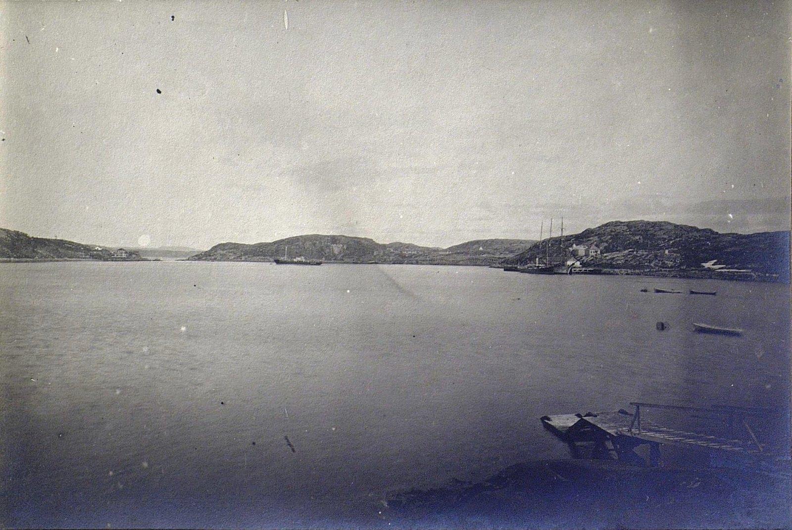 Вид на Екатерининскую гавань. Алексаендровск