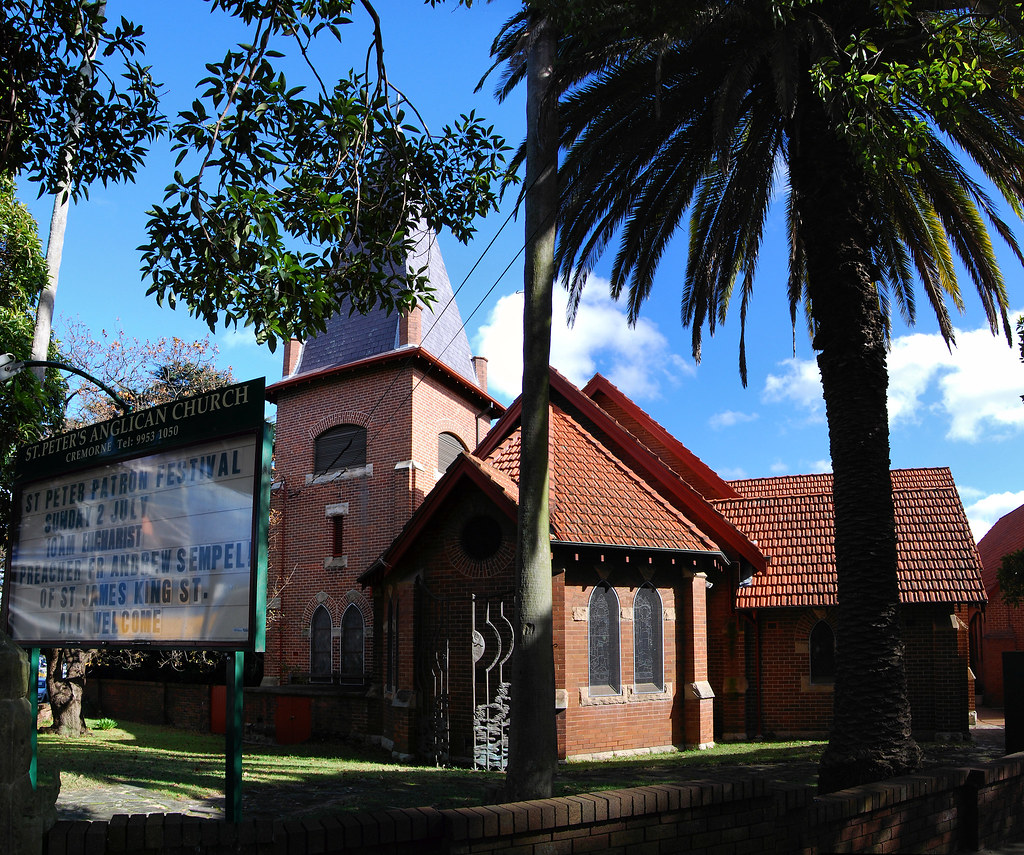 St Peters Anglican Church, Cremorne, Sydney, NSW.