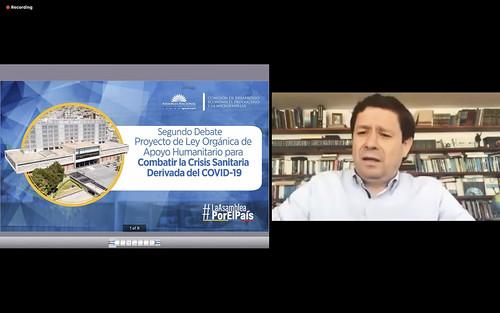CONTINUACIÓN DE LA SESIÓN NO. 669 DEL PLENO DE LA ASAMBLEA NACIONAL (VIRTUAL). ECUADOR, 14 DE MAYO 2020