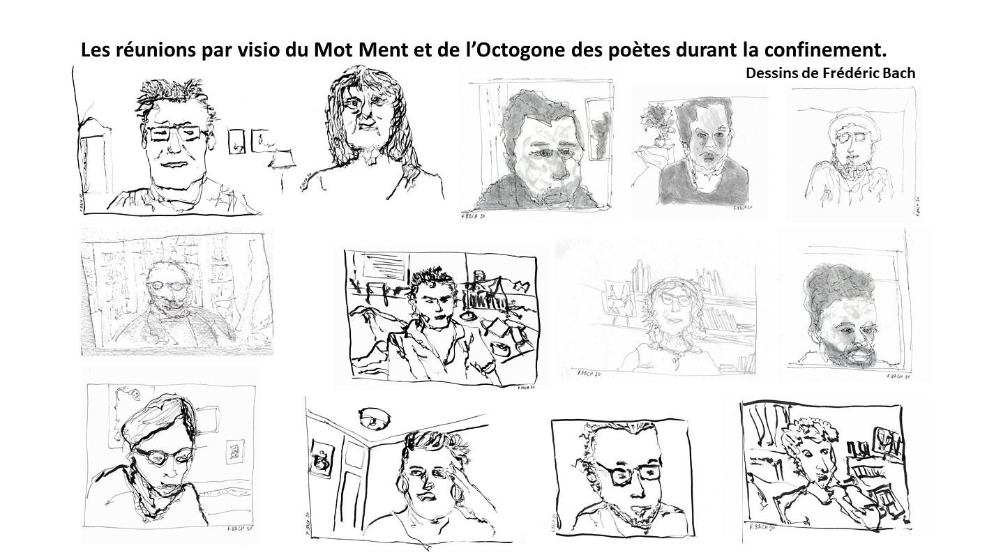 Galerie de poètes en webcam