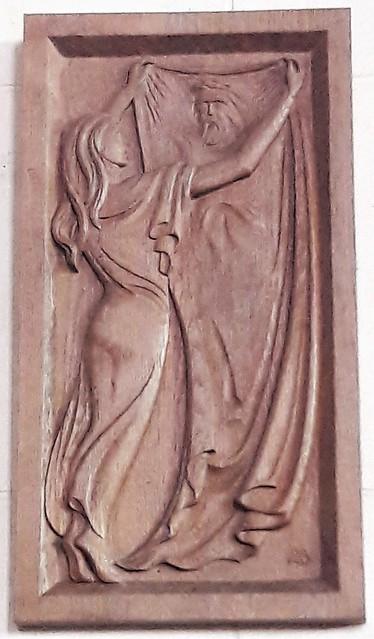 Où les ai-je rencontrés ? Dans l'Eglise Saint-Martin à Ivry-la-Bataille (Eure)
