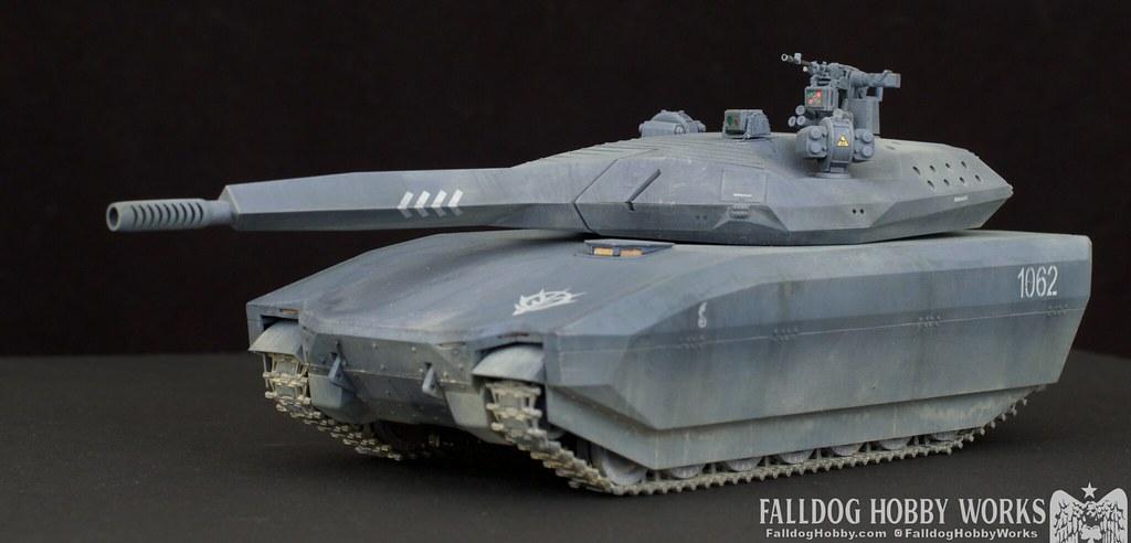 Zeon Inspired Takom PL-01 Tank 5