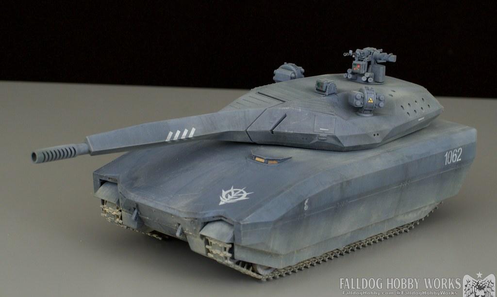 Zeon Inspired Takom PL-01 Tank