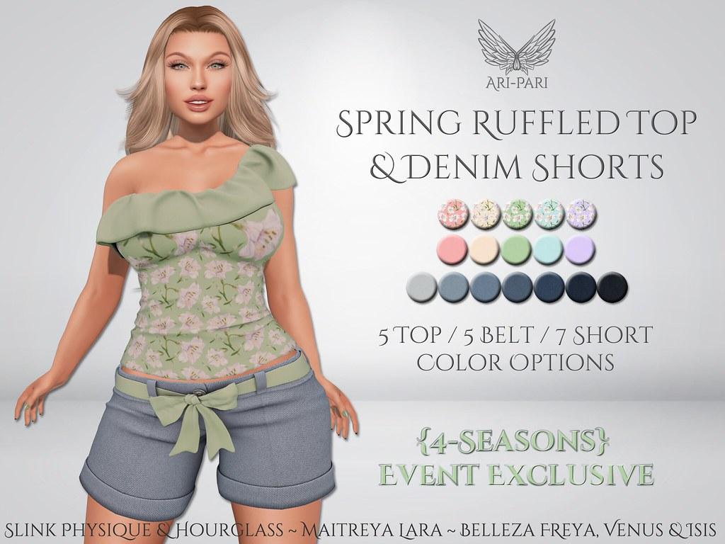 [Ari-Pari] Spring Top & Shorts