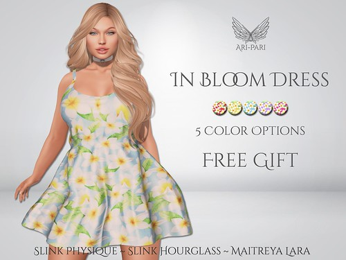 [Ari-Pari] In Bloom Dress