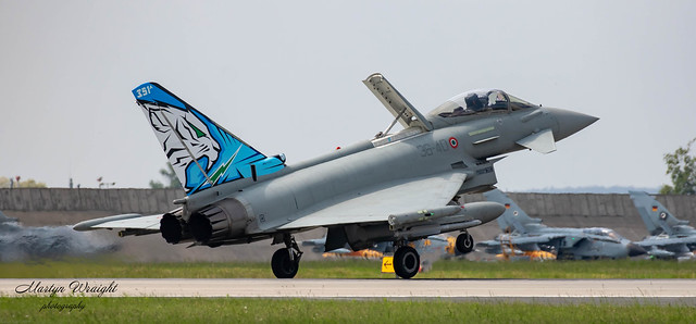 Italian Air Force Eurofighter Typhoon F2000-A