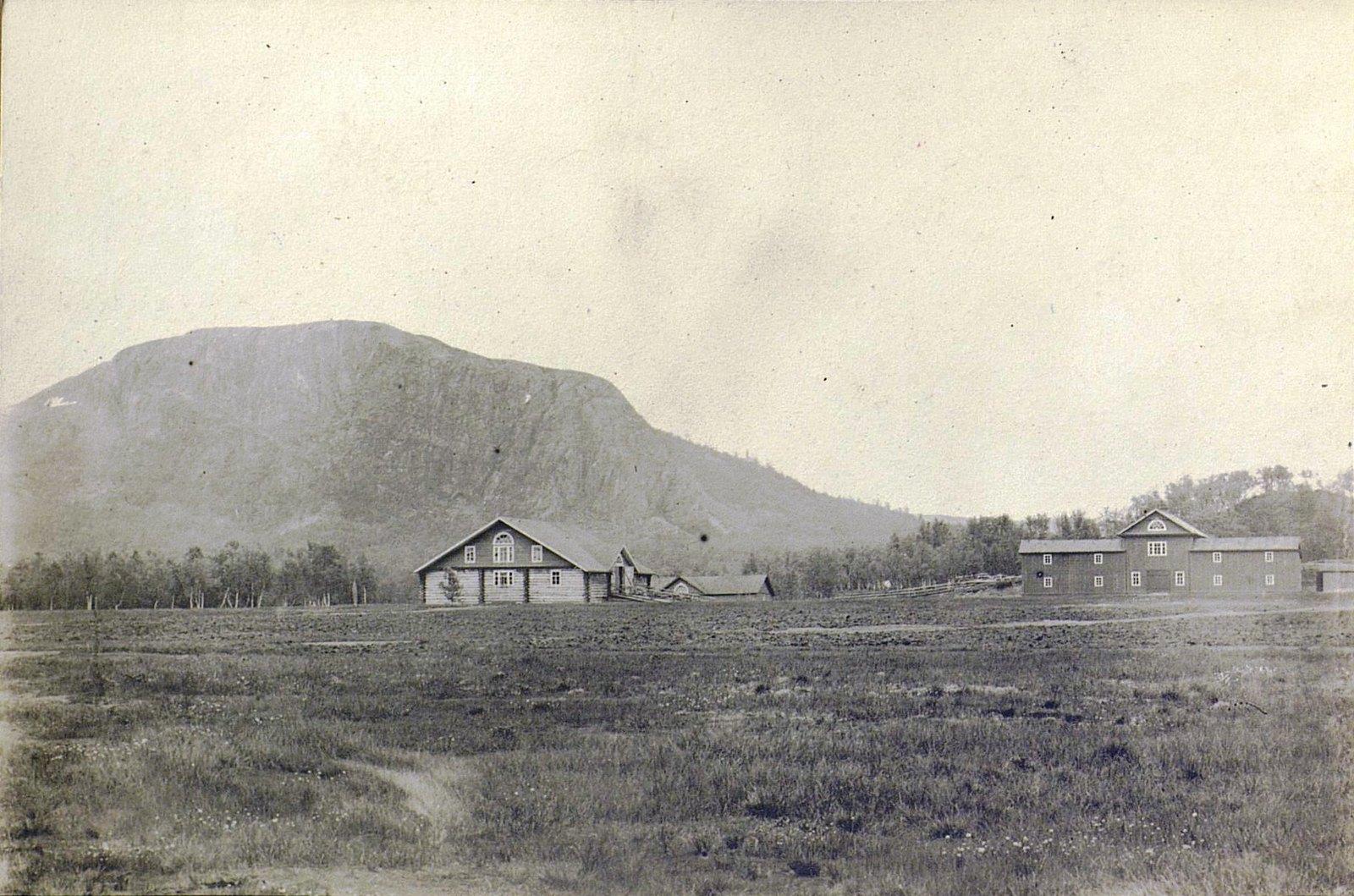 Вид на Печенгский монастырь