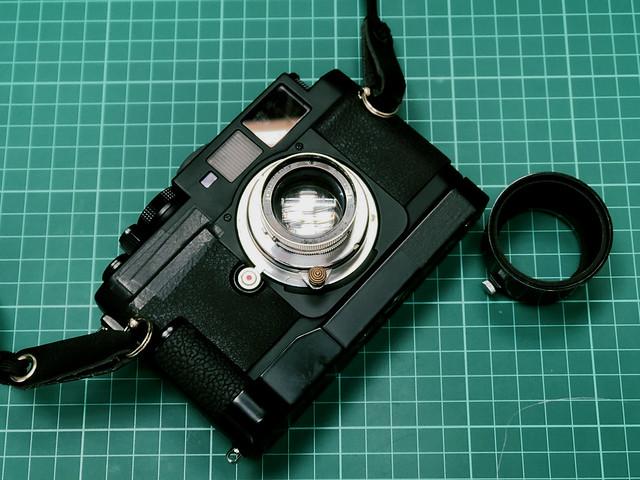 Leica Summar 5cm f2 四十年代的八十年代