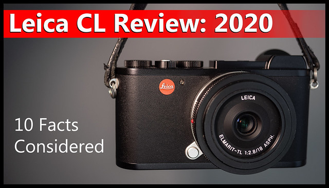 YouTube: Leica CL Review 2020