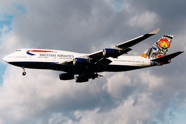 British Airways | Boeing 747-400 | G-BNLT | Cockerel of Lowicz | London Heathrow
