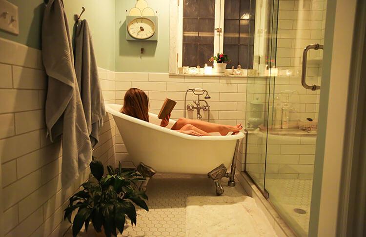 take a bathe
