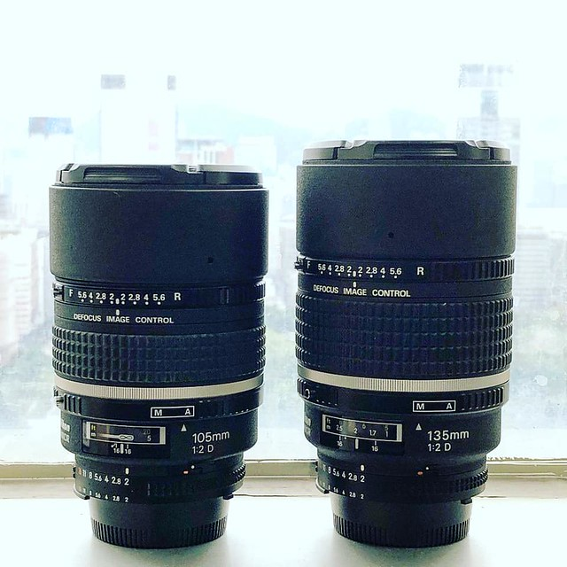 Nikon DC 105mm f2 千夜一夜散焦王