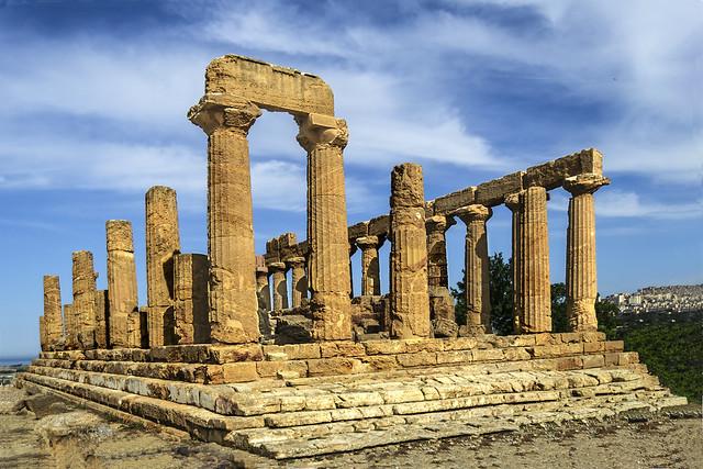 Ciri, Templo de Hera Lacinia o de Juno. Valle de los Templos Agrigento (Sicilia)