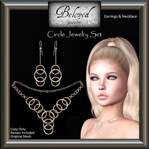Beloved Jewelry : Circle Set FREE Group Gift