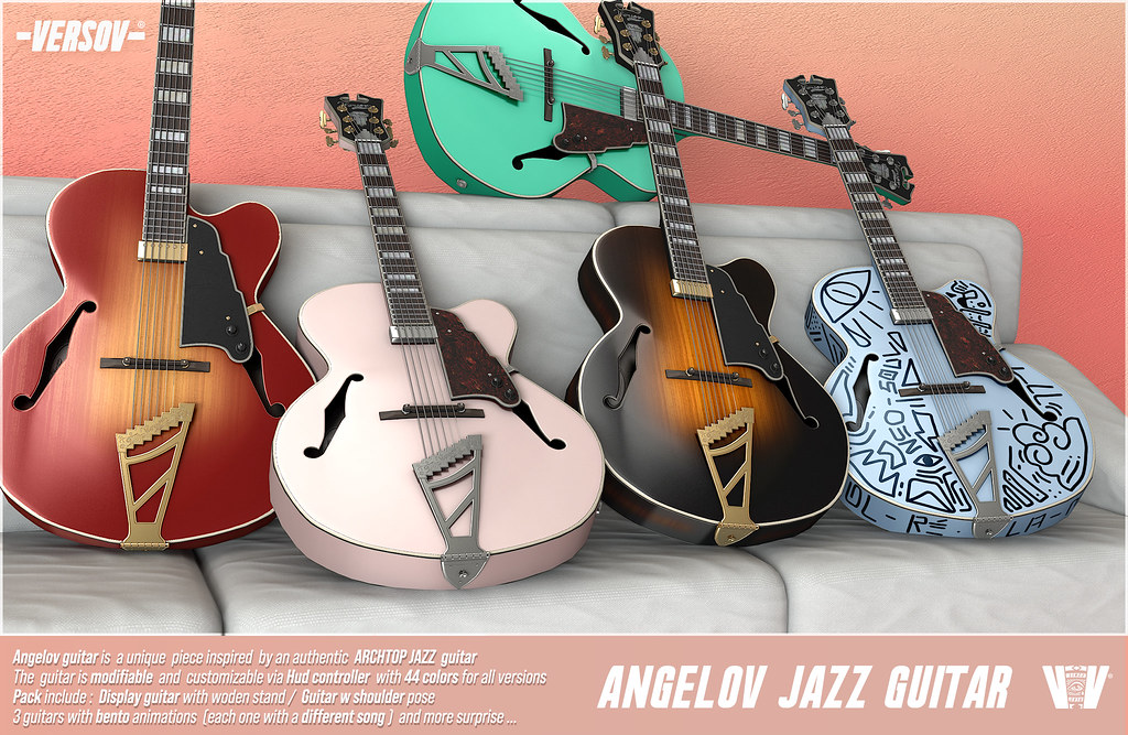 [ Versov //] Angelov guitar available at K9 event