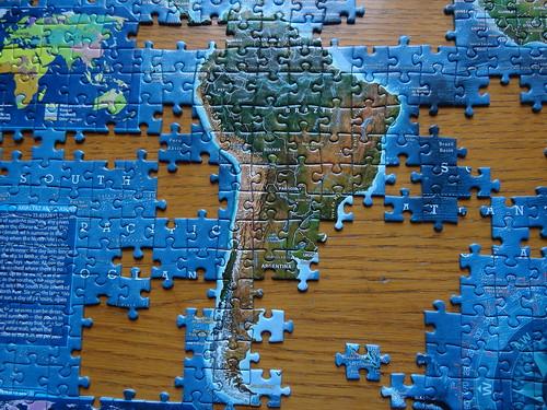 Puzzle en época de confinamiento