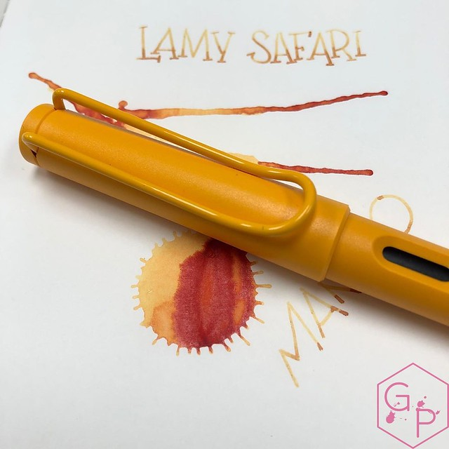 Lamy Safari Mango Fountain Pen and Ink 1_RWM
