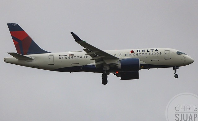Delta Airlines/Airbus A220-171/N111NG