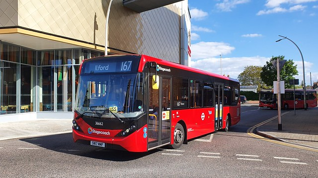 New Stagecoach Logo - Stagecoach London 36662 SN17MMF Route 167