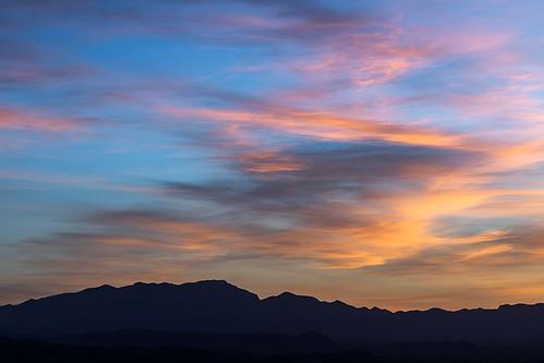 nevadasunset nevada lasvegas sunset sunsetcolor fierysunset blackmountains landscapephotography photography jamesmarvinphelps jamesmarvinphelpsphotography